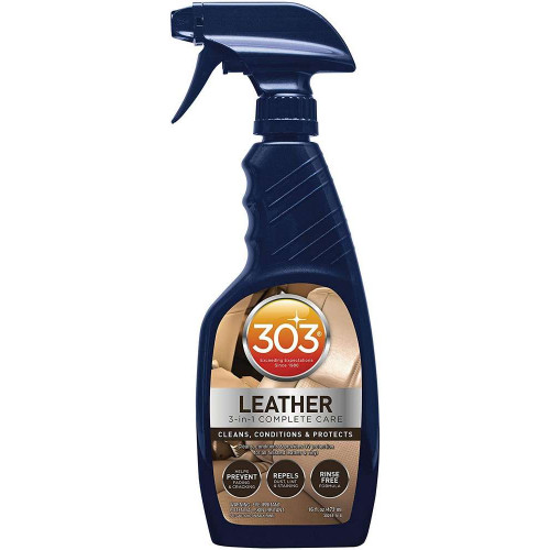 Solutie Intretinere Piele 303 Leather 3 in 1 Complete Care, 473ml