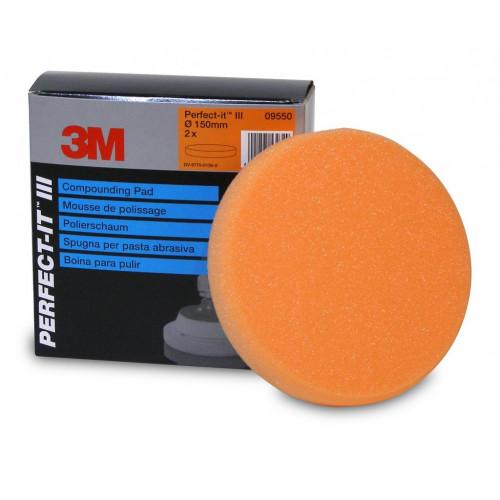 3M Perfect-it III Compounding Pad - Pad Portocaliu Polish Abraziv 150 mm