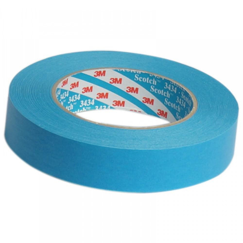 Banda Mascare 3M High Performance Masking Tape 3434, 19mm, 50m