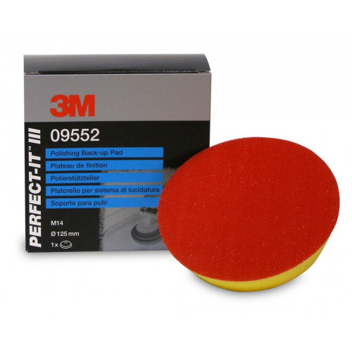 3M Perfect-It III Polishing Back-Up Pad - Taler Polish M14