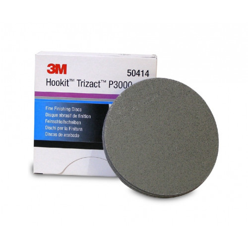 3M Trizact 3000 150mm - Disc Finish Abrazivitate 3000