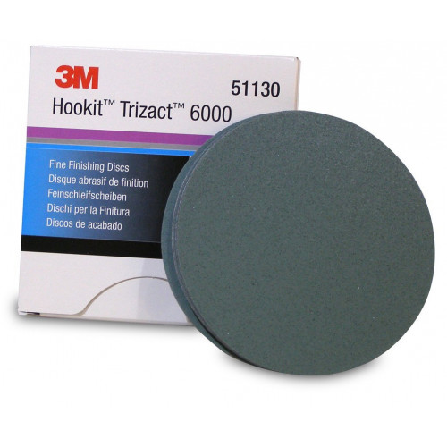 3M Trizact 6000 150mm - Disc Finish Abrazivitate 6000