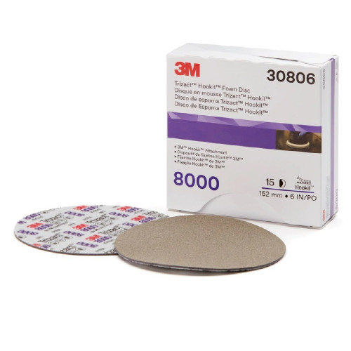 3M Trizact 8000 150mm - Disc Finish Abrazivitate 8000