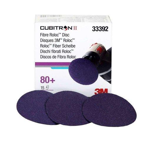Disc Abraziv 3M Cubitron II Roloc 80+, 75mm, Set 15 buc