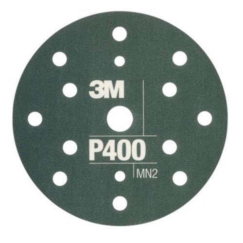 Disc Abraziv Flexibil 3M Hookit P400, 15 Gauri, 152mm