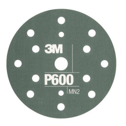 Disc Abraziv Flexibil 3M Hookit P600, 15 Gauri, 152mm