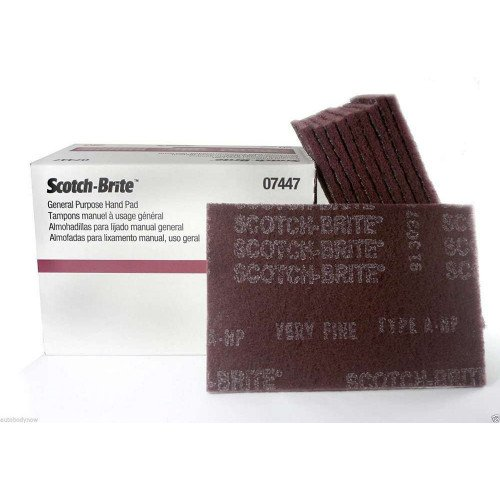 Pasla Fina 3M Scotch-Brite Hand Pad, 22.86 x 15.24cm
