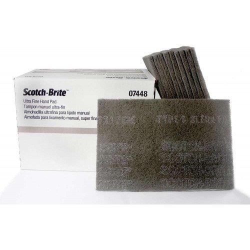 Pasla Ultra Fina 3M Scotch-Brite Hand Pad, 22.86 x 15.24cm