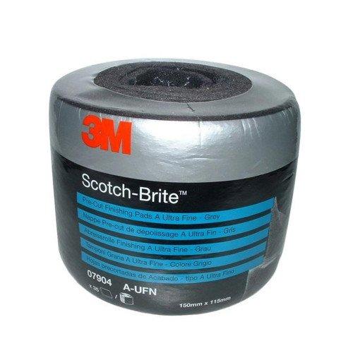 Rola Pasla 3M Scotch-Brite Clean and Finish, Gri