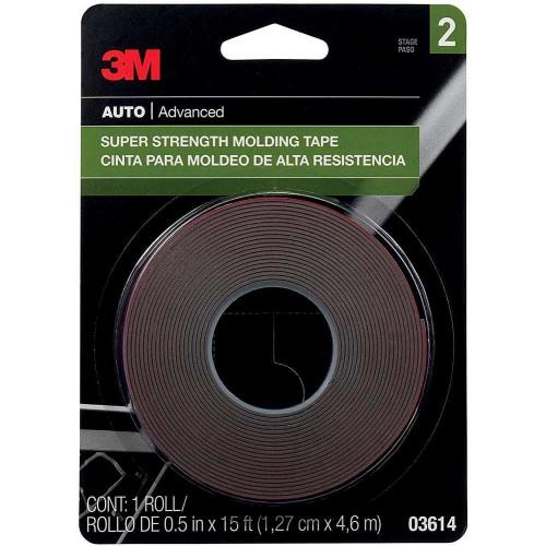Banda Dublu Adeziva 3M Super Strenght Molding Tape, 4.6m
