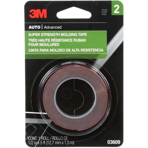 Banda Dublu Adeziva 3M Super Strenght Molding Tape, 1.5m