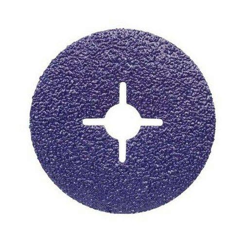 Disc Abraziv 3M Cubitron II Abrasive Fibre 786C, 80+, Slotted, 115 x 22mm, Set 5 buc