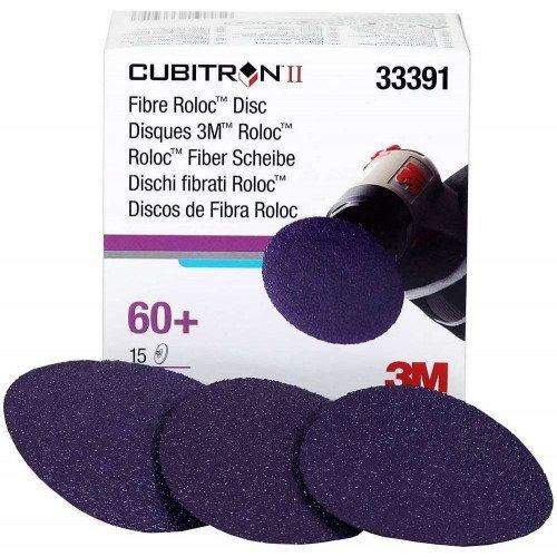 Disc Abraziv 3M Cubitron II Roloc 60+, 75mm, Set 15 buc