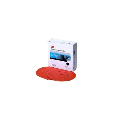 Disc Abraziv 3M Hookit Red 316U, P220, 7 Gauri, 150mm