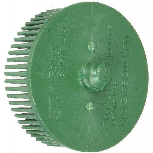 Disc Abraziv cu Peri 3M Scotch-Brite Roloc Bristle Disc P50, 51mm, Set 10 buc