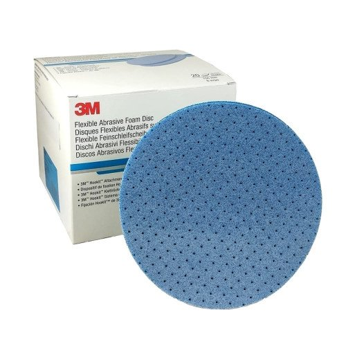 Disc Abraziv Flexibil 3M Hookit Abrasive Foam P2000, 150mm
