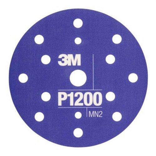 Disc Abraziv Flexibil 3M Hookit P1200, 15 Gauri, 152mm