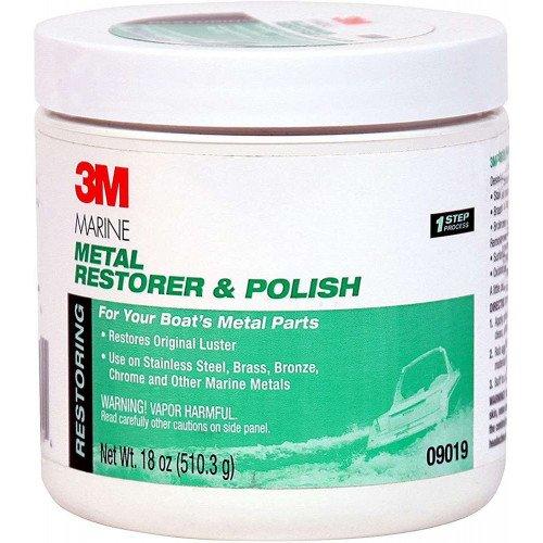Pasta Polish Metale 3M Metal Restorer and Polish, 500ml