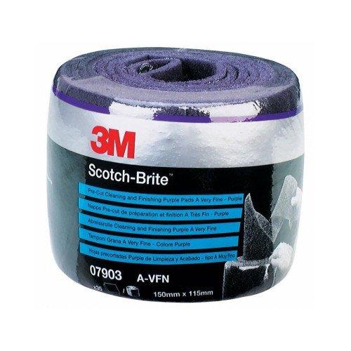 Rola Pasla 3M Scotch-Brite Clean and Finish, Mov