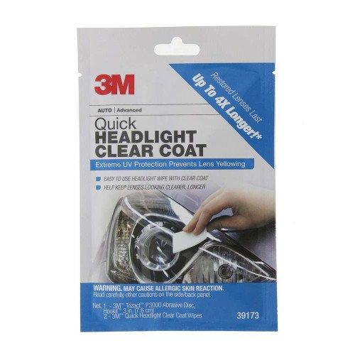 Servetele Intretinere Faruri 3M Quick Headlight Clear Coat