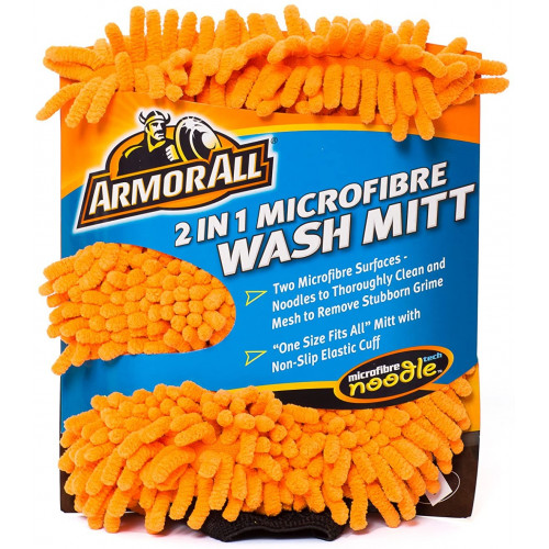 Manusa Spalare Auto Armor All 2 in 1 Microfibre Wash Mitt