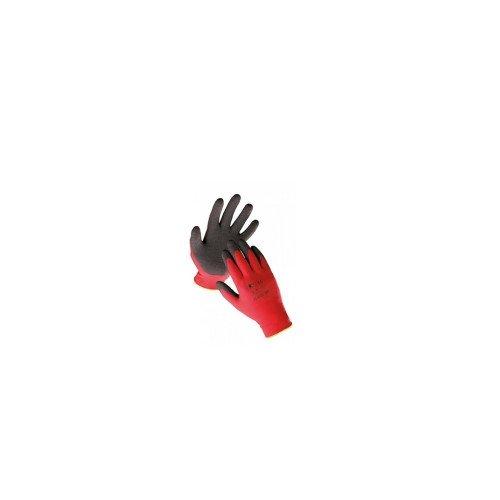 Pereche Manusi cu Pelicula Latex WD-40, Rosu-Negru, L