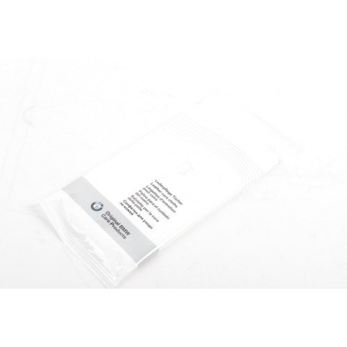 BMW Leather Care Cloths - Servetele Umede Curatare Piele