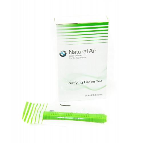BMW Rezerva Aparat Odorizare Aroma Green Tea 3buc
