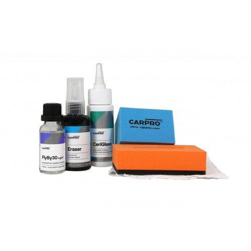 Kit Tratament Hidrofob Geamuri CarPro FlyBy30 20ml