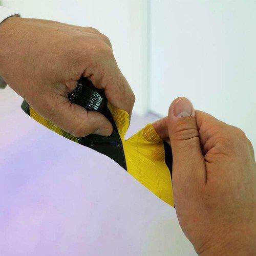 Banda Mascare Delimitare Siguranta Colad Hazard Tape, 50mm x 33m