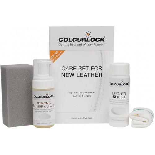 Set Curatare & Protectie Piele Colourlock Strong 125ml & Shield 150ml