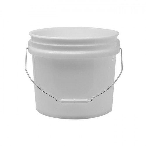 Galeata Spalare Auto Pro Detailing Grit Guard Bucket 13.5 litri, Alb
