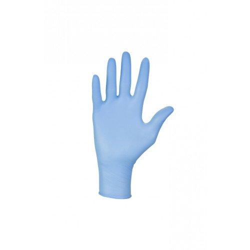 Manusi Nitril Nitrylex Classic, Albastru, L, 100buc