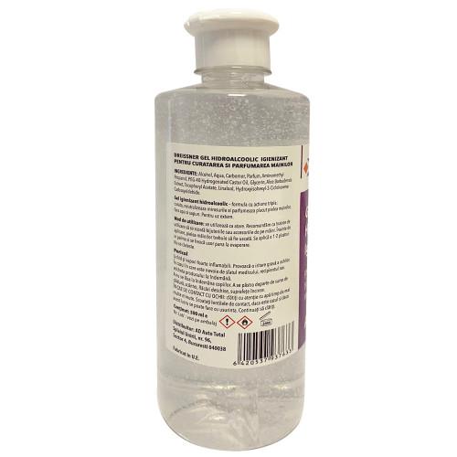 Gel antibacterian dezinfectant pentru maini Dreissner, 500ml