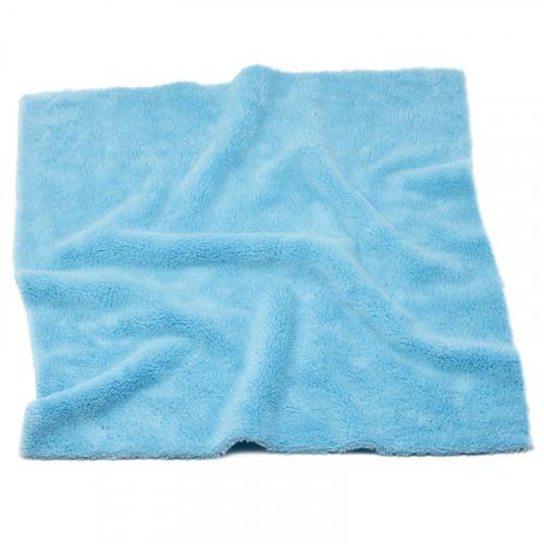 Laveta Microfibre fara Margini Pro Detailing Fluffy 550gsm, 40x40cm, Albastru, 3buc