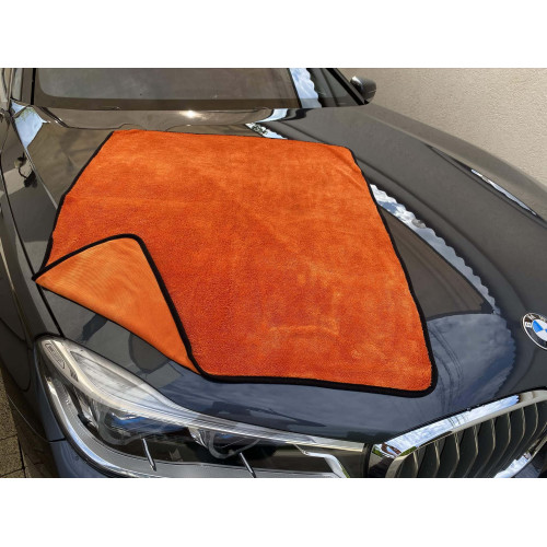 Prosop Uscare Auto Pro Detailing Super Twist Orange, 55x50cm