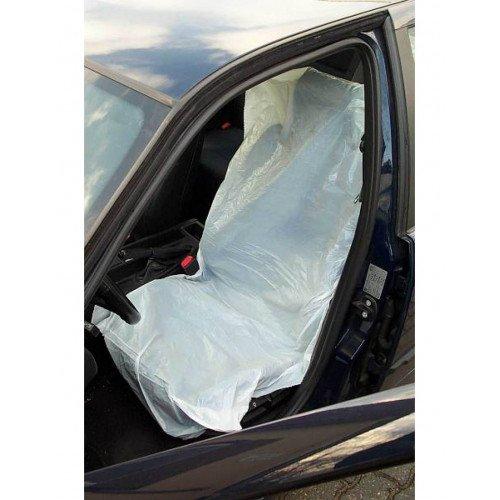 Husa Plastic Scaun Auto Kemtex, Set 250buc