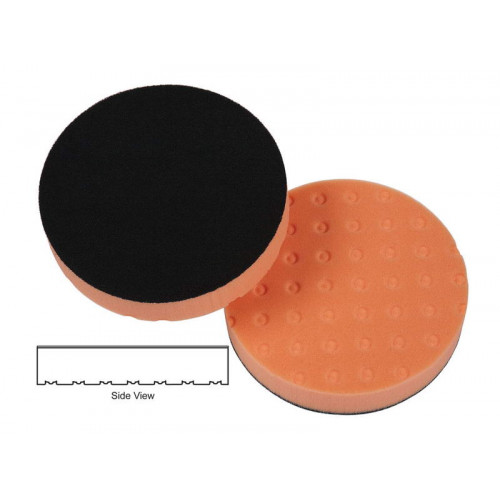 Lake Country CCS 4 Spot Orange Light Cutting Pad - Burete Polish Mediu Abraziv 101 mm