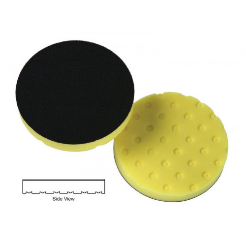 "Lake Country CCS 4"" Yellow Cutting Pad - Burete Polish Abraziv 101 mm"