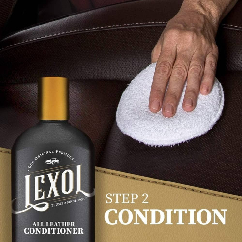 Kit Curatare & Intretinere Piele Lexol Leather Care Kit,500ml