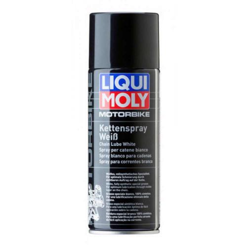 Spray Alb Lubrifiere Lant Motociclete Liqui Moly, 400ml