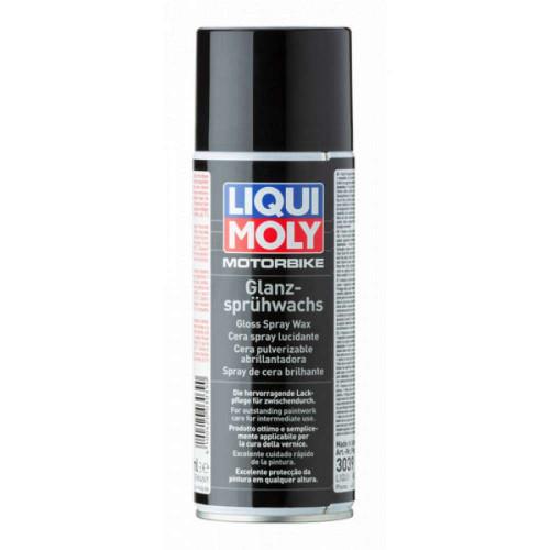 Spray Ceara Lichida Motociclete Liqui Moly Motorbike Gloss Spray Wax, 400ml