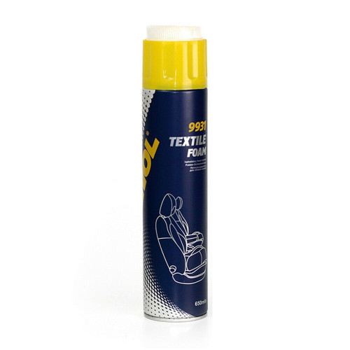 Solutie Curatare Textil Mannol Textile Foam, 650ml