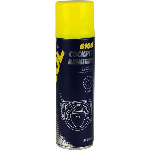 Spray Curatare Bord Mannol Cockpit-Reiniger, Citron, 220 ml