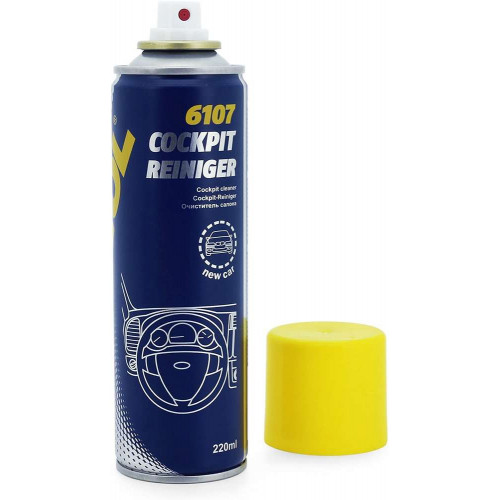 Spray Curatare Bord Mannol Cockpit-Reiniger, New Car, 220 ml