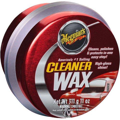 Ceara auto solida de curatare Solida Meguiars Cleaner Wax, 311 gr