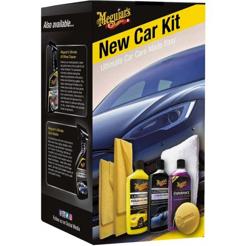 Kit Intretinere Masina Noua Meguiars Brilliant Solutions New Car Kit