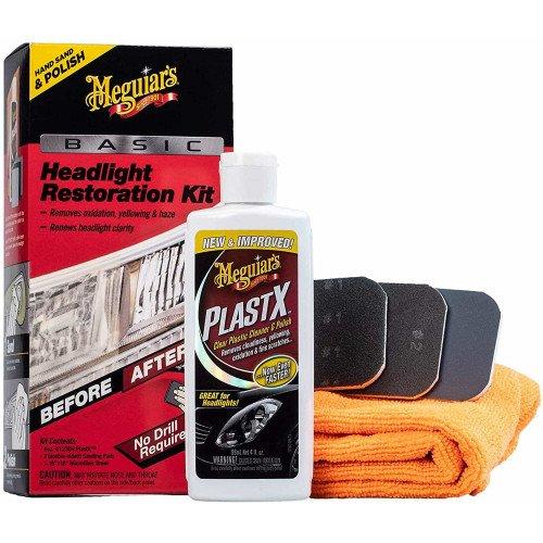 Kit Polish Faruri Meguiars Basic Headlight Restoration Kit