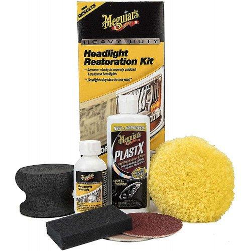 Kit Polish Faruri Meguiars Heavy Duty Headlight Restoration Kit