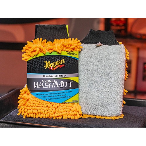 Manusa Microfibre Spalare Meguiar's Hybrid Wash Mitt